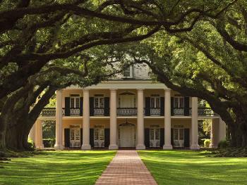 Louisiana plantation homes site photos for Small plantation homes